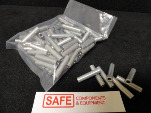 """Aluminum Spacers 1//4 x 1-1//8/"""" #6 Screw Hole QTY-10 FASTENAL Standoff Sleeve M16"""