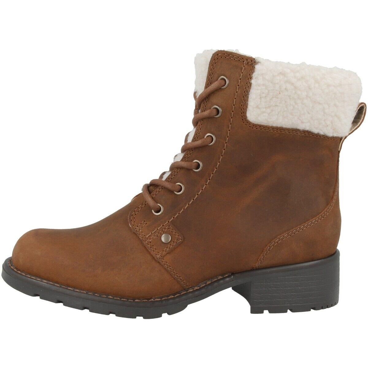 Clarks Orinoco Dusk Schuhe damen Damen Stiefel Stiefeletten gefüttert 26146419