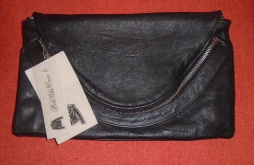 Black Recycled Pelechecoco Leather Outfitters Zippered 96 Clutch Urban Lydia RFfSq