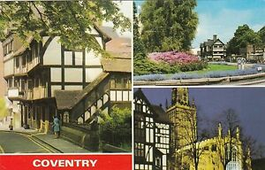 Postcard  Coventry  3 views - York, United Kingdom - You have the right to cancel this purchase within 14 working days after the day which you receive it. You must communicate this cancellation by e-mail, fax or letter. All items being returned must be in the condition received and sh - York, United Kingdom