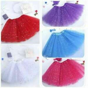 Girl-Kids-Adult-Party-Ballet-Bling-Bling-Tutu-Skirt