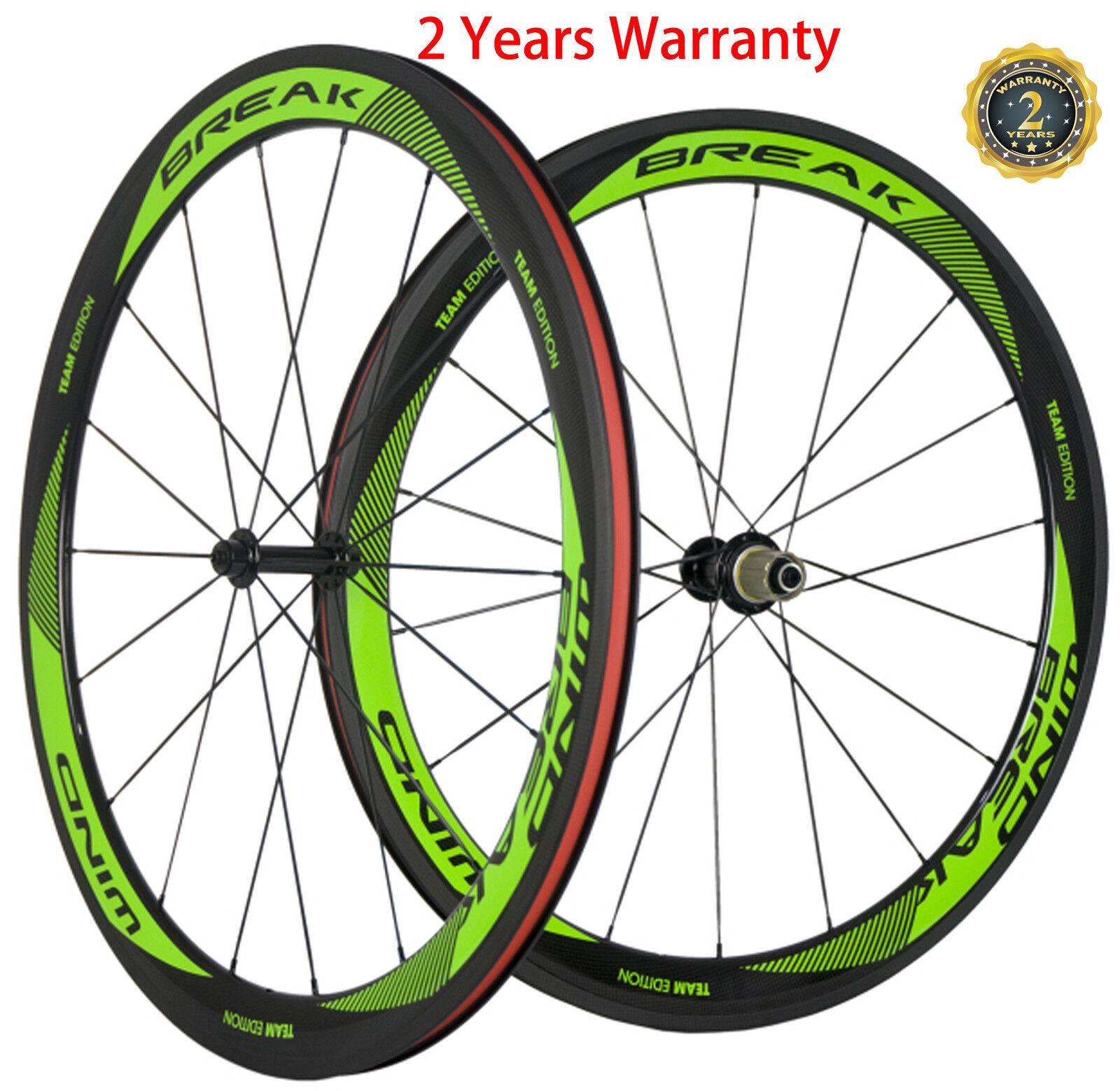 50mm Bike Wheelset Carbon Clincher Wheels Road Bike  R13 Hub Shimano Campagnolo  save up to 50%
