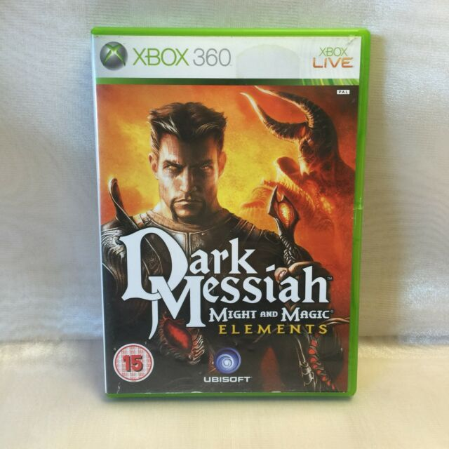 Dark Messiah - Might and Magic Elements - Complete 2008 (Xbox 360/Live) Disk VGC