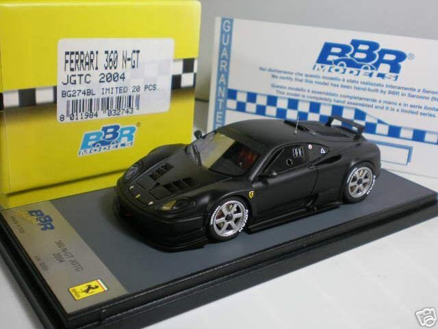 1 43 BBR Ferrari 360 N-GT JGTC 2004 Ltd 20 pcs NewAce