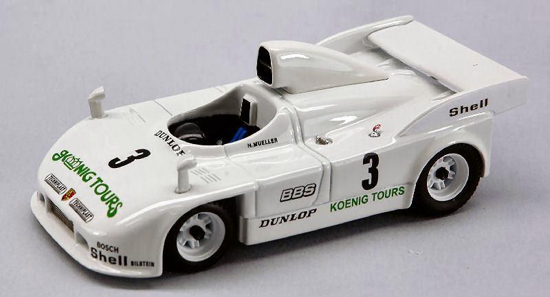 tienda Porsche 908 4 4 4  3 nurburgring 1981 muller (fatal accident) Plze 1 43 Model  excelentes precios
