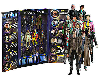 "11 5/"" Doctor Who onze DRS Action Figure Box Set"