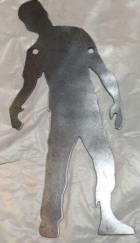 "AR500 Zombie Silhouette Acier Cible Gong 24/"" X 12/"" X 3//8/"""