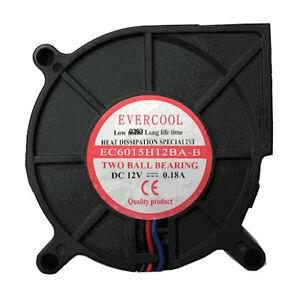Evercool-EC6015H12BA-B-60mm-x-15mm-12V-DC-Dual-Ball-Bearing-Blower-Fan-3-pin