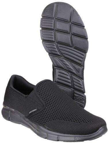 Skechers Equalizer Double Play Memory Foam Sports Go Walk Mens Shoes UK6-12