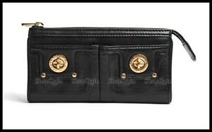 f61e6a8a161 Marc by Marc Jacobs - Totally Turnlock Zip Clutch Wallet Purse | eBay