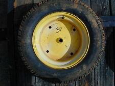 #37 Scotts & Stanley Riding Lawn Mower Rear Tire Wheel - 23 x 9.50 - 12NHS