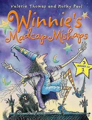 Winnie's Madcap Mishaps by Thomas, Valerie, Good Book (Paperback) FREE & Fast De