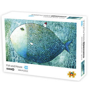Jigsaw-Puzzles-1000-Pieces-Educational-Toys-Fish-Adult-Kids-Game-Puzzle-42x30cm
