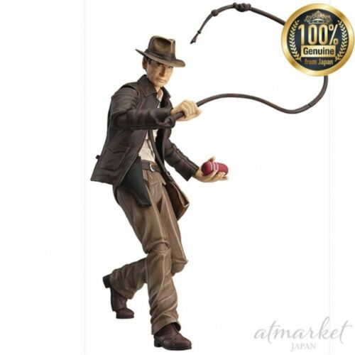 Indiana Jones Figure FGMA/_INDY figma Non scale PVC Painted movable from JAPAN