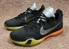 Nike Kobe X 10 All-Star 742546-097 Black / Volt-Multi-Color  Men Size 12