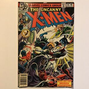 Uncanny X-Men 119 FN+ Newsstand Marvel 1978 Cockrum Claremont Moses Magnum