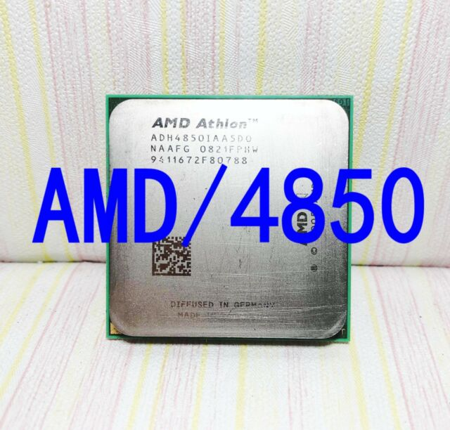 AMD Athlon X2 4850 Energy Efficient 2.5 GHz Dual-Core (ADH4850IAA5DO) Processor