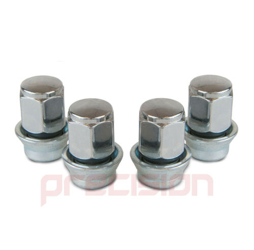 12 Chrome Wheel Nuts /& 4 Locking Nuts for Genuine Ford Focus Alloys