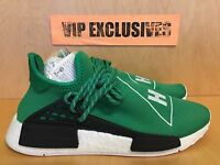 Adidas NMD Human Race Pharrell Williams Green White PW Hu Nomad BB0620