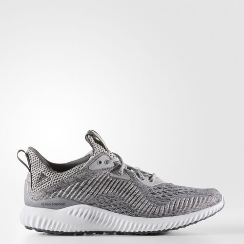Adidas BW1194 Women Alpha Bounce EM Running shoes grey white sneakers