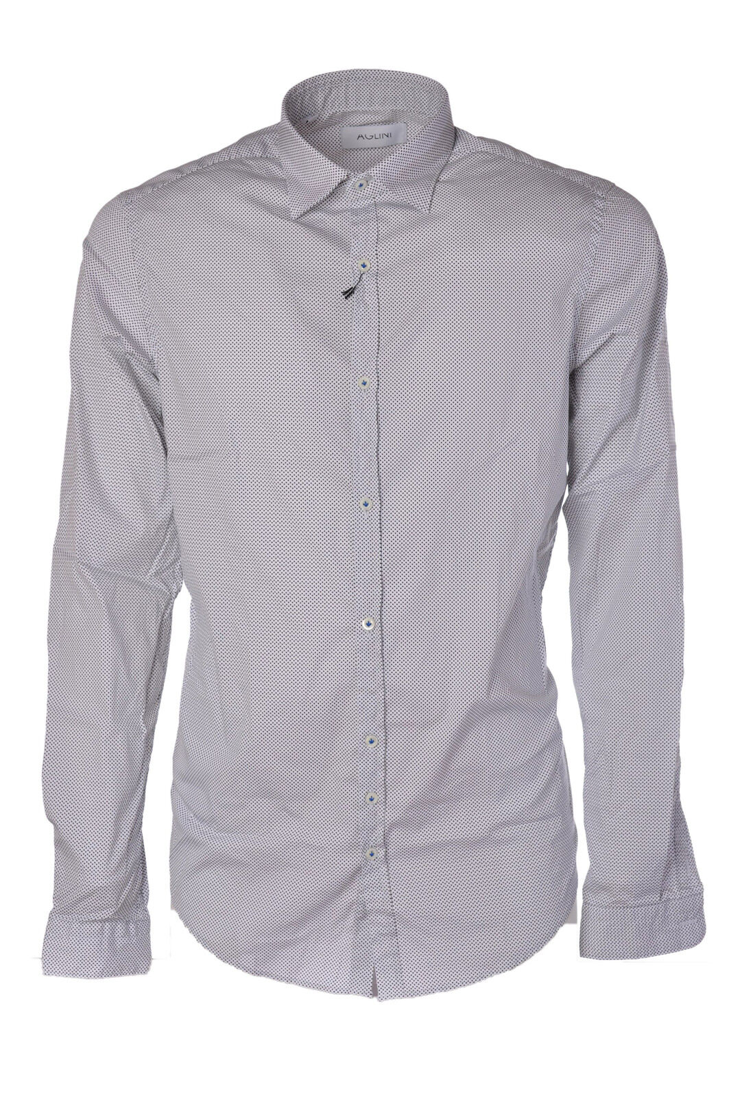 Aglini - Shirts-Shirt - Man - White - 475515C181141