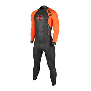 Orca Openwater Mesh Rush Guard Orange FVB3 Neu Schwimmshirt