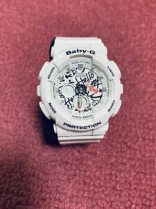 Details about CASIO G SHOCK HELLO KITTY BABY G Lady's Watch BA120KT 7A Free Shipping wTrack