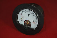 Ac 0 200v Round Analog Voltmeter Voltage Panel Meter Dia 90mm Directly Connect