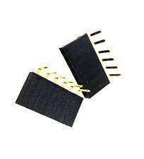 20pcs 1x6 Pin 254mm Right Angle Single Row Female Pin Header Connector New