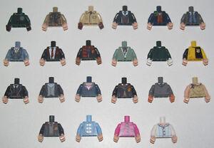 Lego-Torse-Bras-Main-Minifig-Harry-Potter-71022-Collector-Choose-Torso-NEW