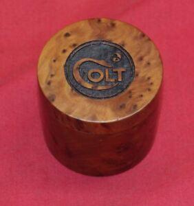 COLT Firearms Wood Patch Box Case