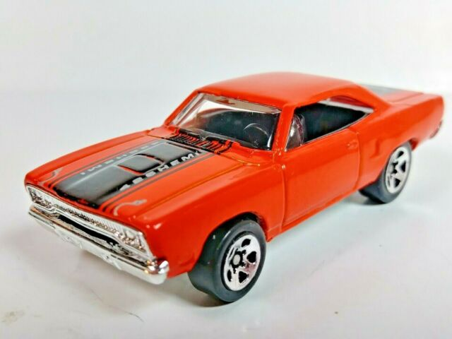 Hot Wheels 1998 First Editions '70 Roadrunner #661 Orange and Black 1/64 Loose