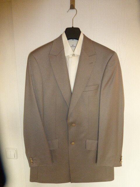 Masterhand Herren Hochzeitsanzug Größe 48 inkl. festlichem Hemd Größe 39