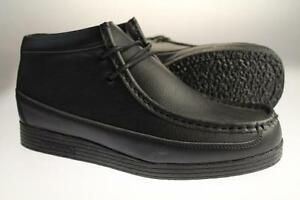 c2c4b242a203 Image is loading Mckenzie-Pardoe-Hi-Junior-Black-Shoes-Sizes-4-