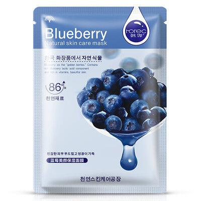 Korean Plants Facial Mask Sheet Essence Skin Care Face Moisturizing Oil Control