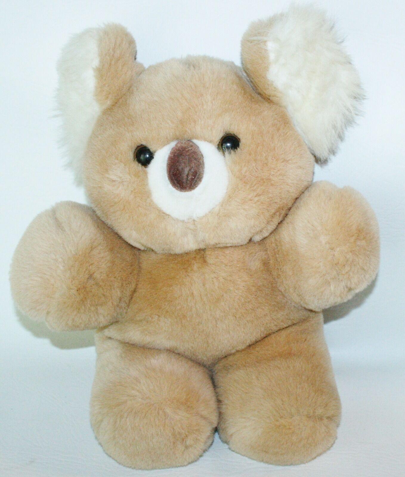 Vintage 1985 Animal Toy Imports Inc Plush Koala Bear Soft 14