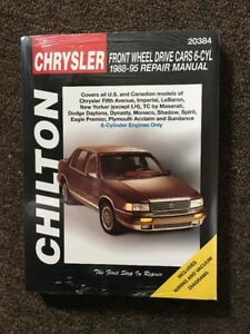 Chrysler-Front-Wheel-Drive-Cars-6-Cyl-1988-95-Chilton-Repair-Manual