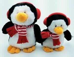 Penguin-Squeaker-Christmas-Soft-Plush-dog-toys-toy-puppy-Gift-B15