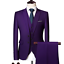 miniature 14 - Mens Suits Sets 3 Pcs Slim Fit Coats Tuxedos Groom Groomsman Formal Work Casual
