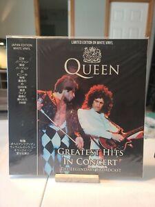 Queen-Greatest-Hits-Concert-CPLVNY339-Ltd-Ed-White-Vinyl-2018-New-Unopened