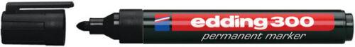 Permanentmarker edding 300 1,5-3 mm Edding; #Edding... nachfüllbar schwarz