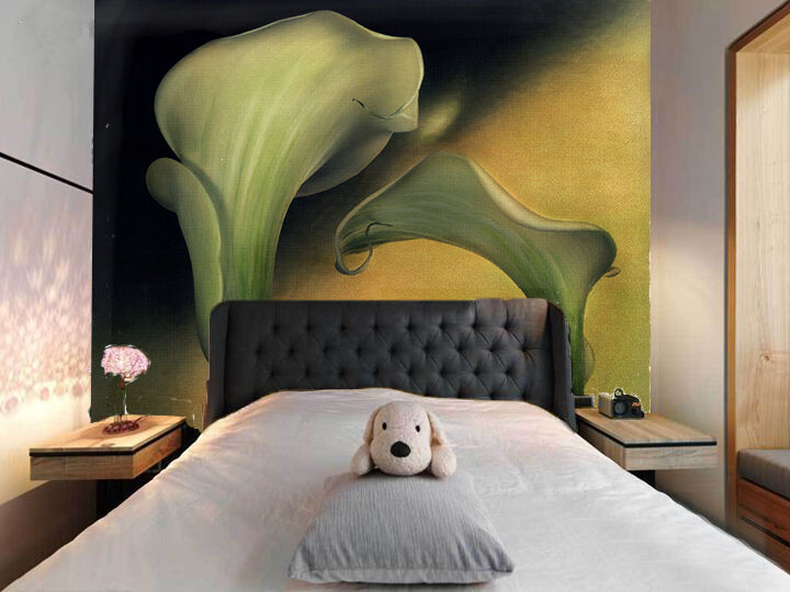 3D Big Flower art 20145 Paper Wall Print Decal Wall Wall Murals AJ WALLPAPER GB