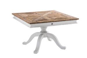 esstisch massivholz quadratisch, altholz esstisch quadratisch #1 shabby recycelt rustikal landhaus, Innenarchitektur
