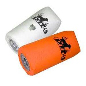 DT Systems Nylon Orange or White Feather Weight Dummys 2 Pk