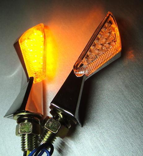 2 LED MINI TURN SIGNAL 6V 6 VOLT SYSTEM SCOOTER Hond Minitrail XL80 CB125 CT110