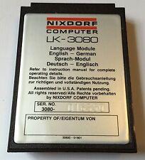 Vintage Lexicon Nixdorf LK-3080 English-German Disc! Great Find! Free Shipping!