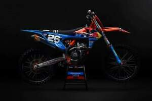 2018 ktm factory edition 250. simple 250 image is loading tldfactorygraphicskitandseatcoverktm for 2018 ktm factory edition 250 e