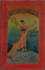 RARE EO 1891 CARTONNAGE POLYCHROME + ÉMILE DESBEAUX : PHYSIQUE POPULAIRE