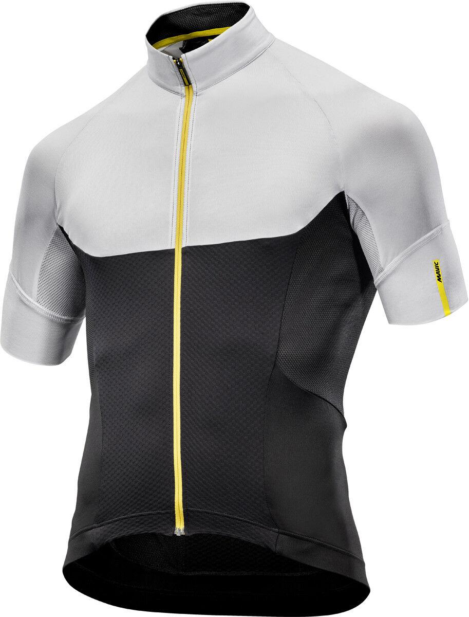 Mavic ksyrium pro bici camiseta corto blancoo negro 2018