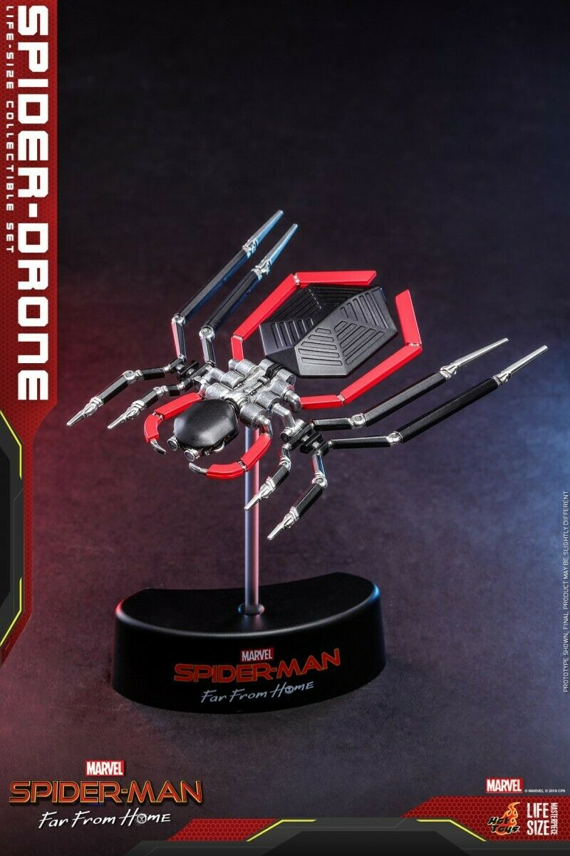 1 1 Hot Toys LMS011  Spider Drone Spider-Man Far From Home Life Size Model Toy
